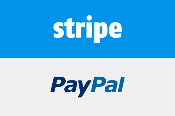 stripe paypal payment
