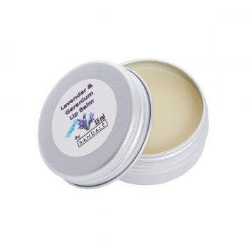 Lavender and Geranium Lip Balm