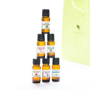 Miniature sample oils