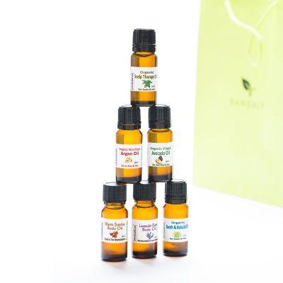 Miniature sample oils